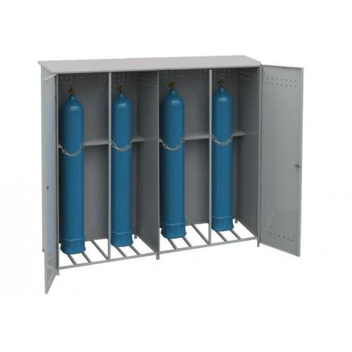 Шкаф для газовых баллонов ШГБК-4