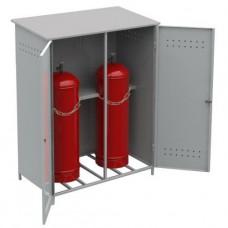 Шкаф для газовых баллонов ШГБ-2