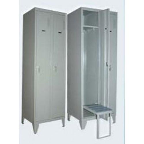 Шкаф металлический для одежды ШО1-2-8 вп