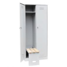 Шкаф металлический для одежды ШО1-2-6 вп