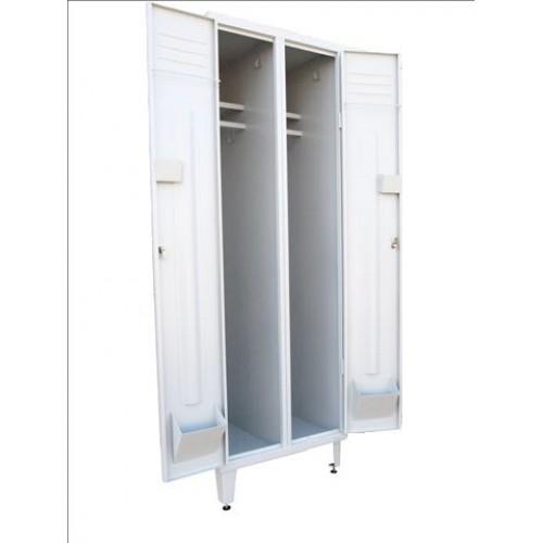 Шкаф металлический для одежды ШО1-2-8