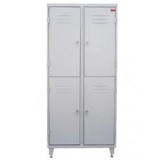 Шкаф металлический для одежды ШО2-2-6