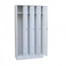 Шкаф металлический для одежды ШО1-4-12