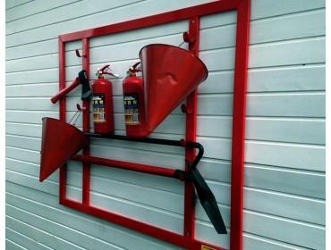 Типы пожарных щитов