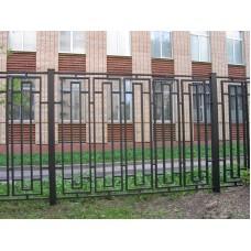 Забор металлический Зб-9