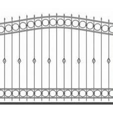 Забор металлический Зб-16