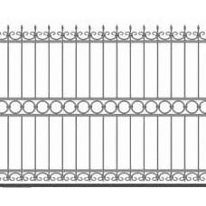 Забор металлический Зб-15