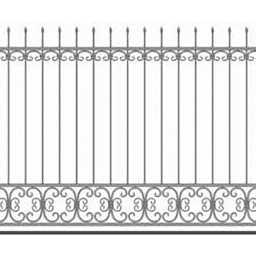 Забор металлический Зб-10