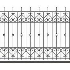 Забор металлический Зб-11