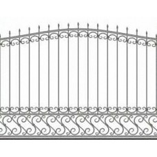 Забор металлический Зб-17