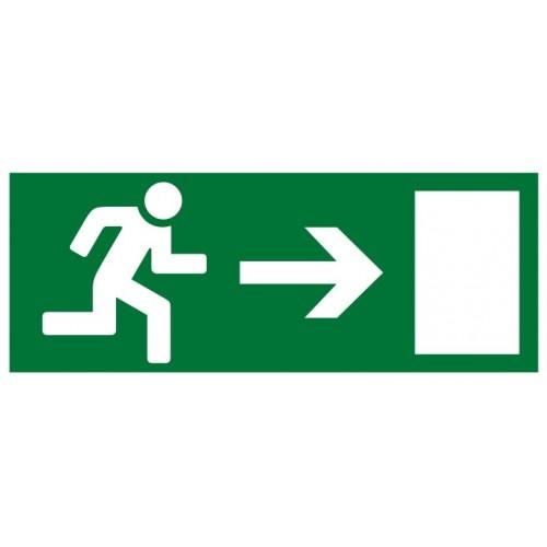 """Знак """"Направление к эвакуационному выходу направо"""""""